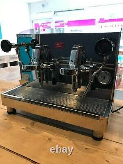 2 Group Espresso Machine Bundle with Grinder, Accessories & Packaging- nearly new