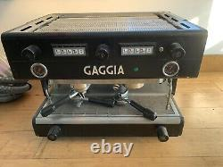 2 Group Gaggia Coffee Espresso Machine