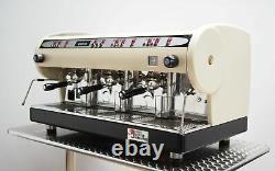 Astoria Marisa 3 Group Commercial Coffee Espresso Machine Luxurious Cream