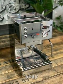Brugnetti Top Plus 1 Group Brand New Stainless Steel Espresso Coffee Machine