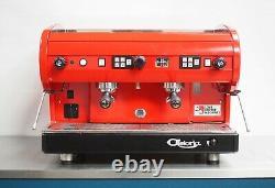 CMA Astoria 2 Group Lisa Bold Lipstick Red Coffee Espresso Machine- Simply WOW