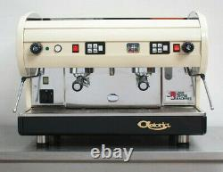 CMA Astoria 2 Group Lisa Coffee Espresso Machine Lustrous Cream