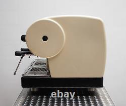 CMA Astoria 2 Group Lisa Coffee Espresso Machine Luxurious Dreamy Cream