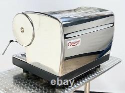 CMA Astoria 2 Group Marisa Coffee Espresso Machine Gleaming Stainless Steel