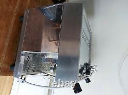 Coffee expresso machine, fracino, 2 group. 240v 3pin power