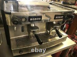 Commercial espresso coffee machine 2 Group Fully Auto Iberital L'anna