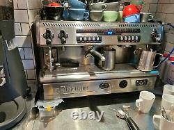 Commercial espresso coffee machine La Spaziale S5, 2 group