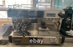 Conti CC 100 espresso coffee machine 2 group traditional barista