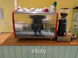 Conti group 2 commercial coffee machine, grinder braista kit bundle