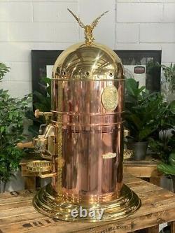 Elektra Belle Epoque 3 Group Brand New Gold And Bronze Espresso Coffee Machine