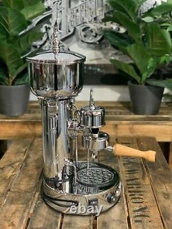 Elektra Micro Casa Semiautomatica 1 Group New Chrome Espresso Coffee Machine Bar