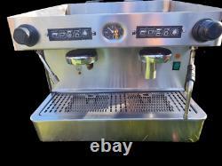 Elite Commercial Coffee Machine 2 Group, Barista, Espresso, Capuchinho