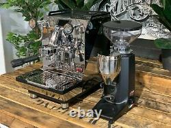 Expobar Crem One 1 Group Espresso Coffee Machine & Quamar Q50 Coffee Grinder