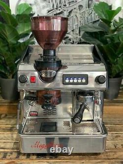 Expobar Megacrem & Built-in Grinder 1 Group Stainless Espresso Coffee Machine
