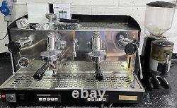 Fiorenzato 2 Group Commercial Espresso Coffee Machine + Grinder + Barista Kit