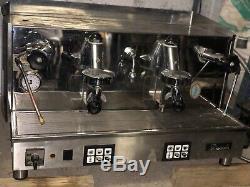 Fiorenzato Refurbished 2 Group Espresso Coffee Machine Immaculate Body