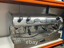 Fracino 3 Group Coffee Espresso Machine Single Phase Romano