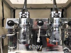 Fracino Contempo Espresso Machine 2 Group Dual Fuel Retro Lever