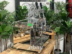 Fracino Retro 2 Group Dual Fuel Stainless Brand New Espresso Coffee Machine Cafe