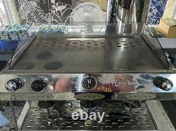 Fracino espresso coffee machine 3 group complete with grinder & knockout box