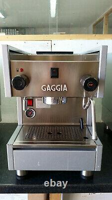 GAGGIA TS 1 Group Espresso Machine Tank Filled JUST ARRIVED
