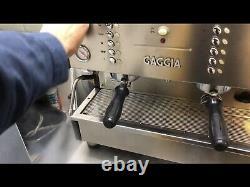 GAGGIA XD2 2 GROUP COFFEE / ESPRESSO MACHINE For Coffee Shops & Restaurants