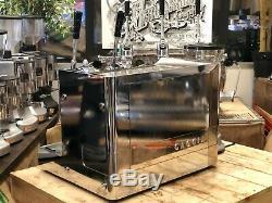 Gaggia Vintage Lever 2 Group Espresso Coffee Machine & Grinder Combo Cafe Barist
