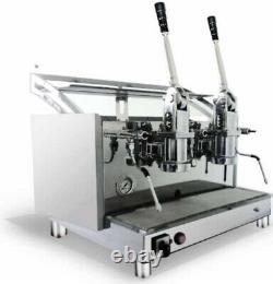 Izzo New Pompei Italian Espresso 2 Group Lever Coffee Machine