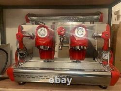 Izzo Sorrento 2 Group Semi-Automatic Italian Espresso Coffee Cappuccino Machine