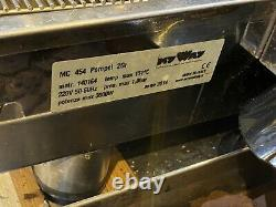 Izzo Used Pompei Italian Espresso 2 Group Lever Coffee Machine