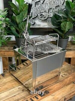 Izzo Valexia Spring Leva 1 Group Brand New Stainless Espresso Coffee Machine