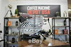 Kees Van Der Westen Bastone Art Veloce 3 Group Commercial Coffee Machine