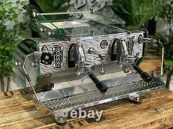 Kees Van Der Westen Mirage Duette 2 Group Stainless Espresso Coffee Machine Cafe