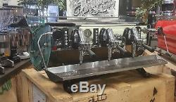 Kees Van Der Westen Triplette Mirage Sides 3 Group Espresso Coffee Machine Cafe