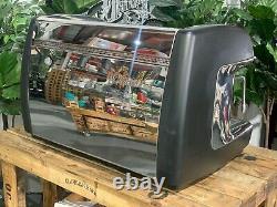 La Cimbali M39 Dosatron Gt Black 2 Group Espresso Coffee Machine Commercial Cafe