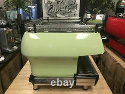 La Marzocco Fb80 2 Group Duck Egg Green Espresso Coffee Machine Commercial Cafe