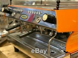 La Marzocco Fb80 2 Group Orange Espresso Coffee Machine Commercial Cafe Barista