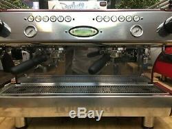 La Marzocco Fb80 2 Group Red Espresso Coffee Machine Commercial Cafe Barista Bar