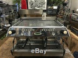 La Marzocco Fb80 2 Group White Espresso Coffee Machine Commercial Barista Car