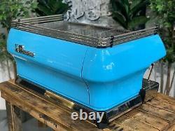 La Marzocco Fb80 3 Group Baby Blue Espresso Coffee Machine Commercial Cafe Bar