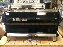 La Marzocco Fb80 3 Group Black Espresso Coffee Machine Restaurant Cafe Latte Cup