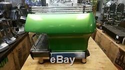 La Marzocco Fb80 3 Group Green Espresso Coffee Machine Restaurant Cafe Latte Cup