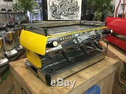 La Marzocco Fb80 3 Group Yellow Black Espresso Coffee Machine Commercial Cafe