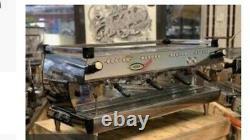 La Marzocco GB5 four group espresso machine and Marco boiler