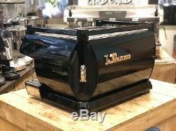 La Marzocco Gb5 2 Group Gloss Black Espresso Coffee Machine Commercial Cafe Bar