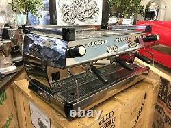 La Marzocco Gb5 3 Group Chrome Espresso Coffee Machine Commercial Cafe Barista