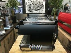 La Marzocco Gb5 3 Group Matte Black Espresso Coffee Machine Cafe Restaurant