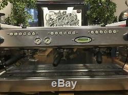La Marzocco Gb5 3 Group Matte White Espresso Coffee Machine Cafe Barista Latte