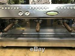 La Marzocco Gb5 3 Group Pink Barista Espresso Coffee Machine Barista Cafe Latte