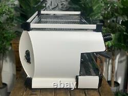 La Marzocco Gb5 3 Group White And Black Espresso Coffee Machine Custom Cafe